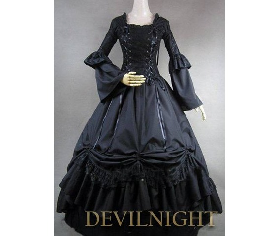 romantic_black_long_trumpet_sleeves_gothic_victorian_ball_gowns_dresses_2.jpg
