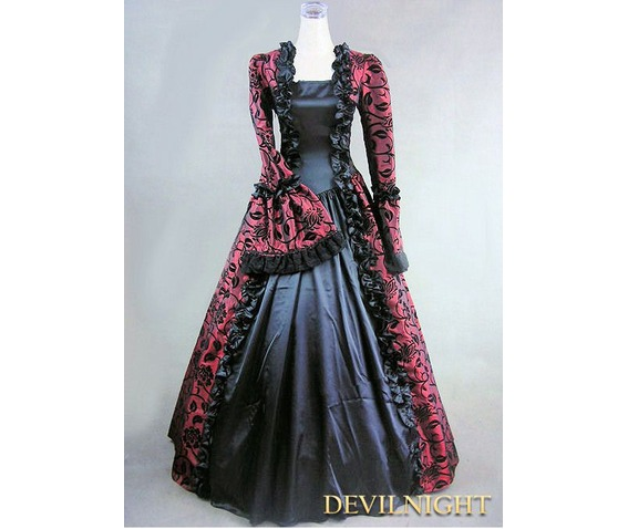 wine_red_and_black_marie_antoinette_masked_ball_victorian_costume_dresses_3.jpg