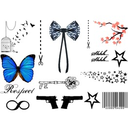 Inkwear Faves Temporary Tattoos