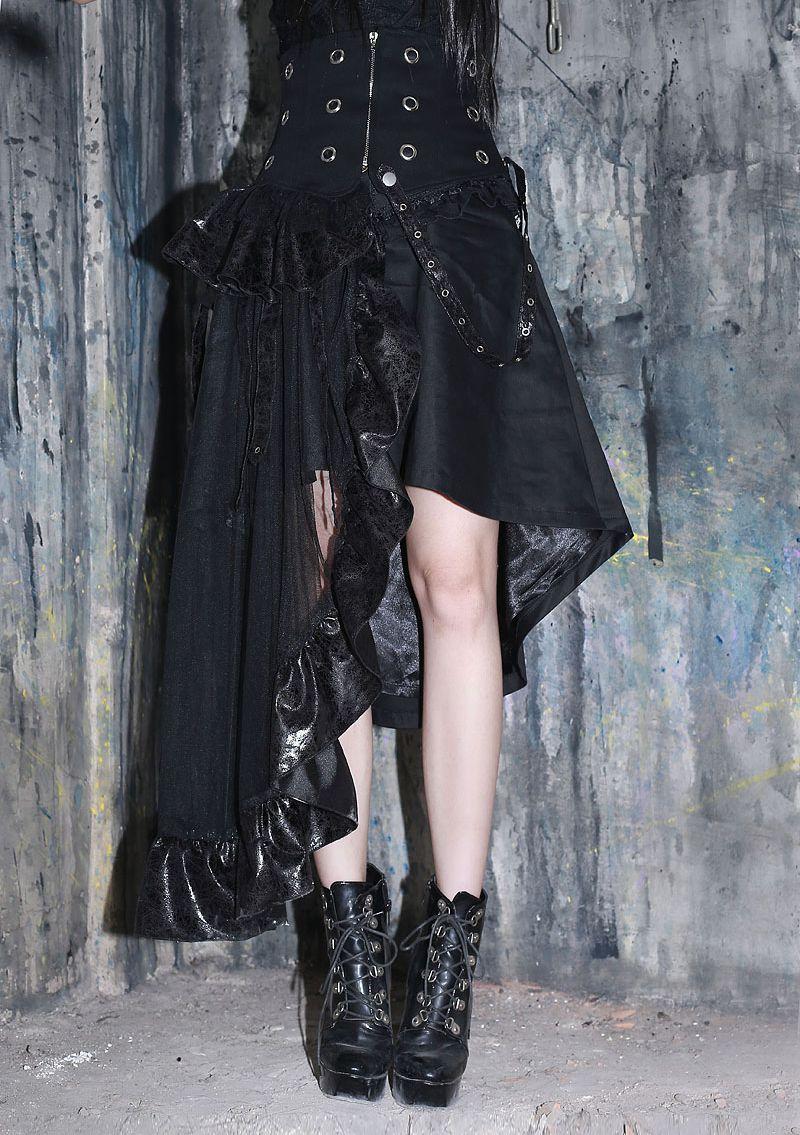 black_asymmetrical_high_waist_gothic_skirt_skirts_4.jpg
