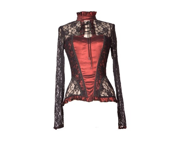 wine_red_sexy_lace_long_sleeves_gothic_t_shirt_tops_for_women__shirts_4.jpg