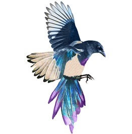 Magpie Temp Tattoo