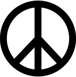 Peace Temp Tattoo