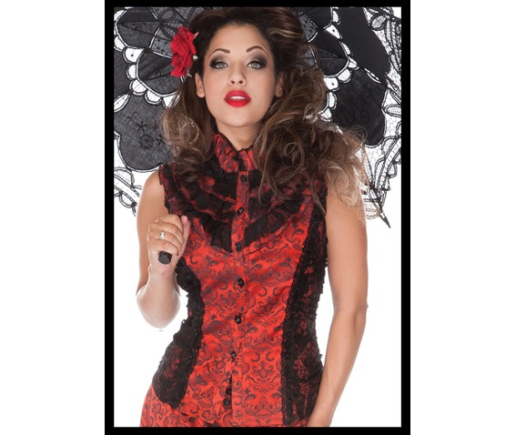 jawbreaker_estella_victoriana_red_jacquard_corset_back_blouse_shirts_4.jpg