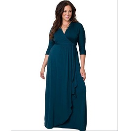 Fall & Winter Romance Style Regular & Plus Size Dress Y6008 Qs