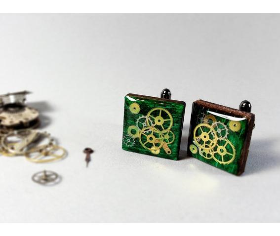 steampunk_cufflinks_real_wood_cufflinks_steampunk_jewelry_green_cufflinks_cufflinks_6.jpg