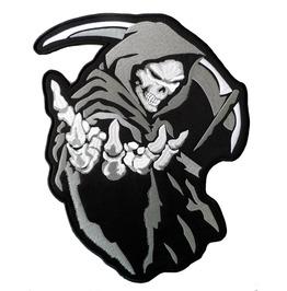Grim Reaper (Grey) Patch 16cm X 13.5cm