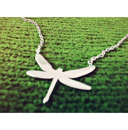 Dragonfly Necklace Silhoutte Anisoptera