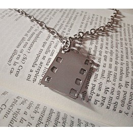 Filmstrip Pendant Necklace