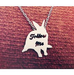 Follow Me Rabbit Necklace