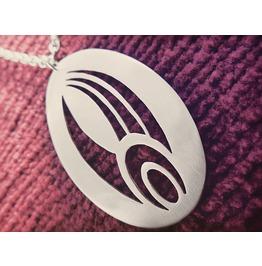 Star Trek Borg Symbol Pendant Necklace