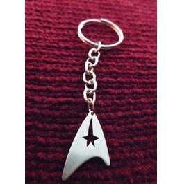 Star Trek Badge Insignia Key Chain Keychain