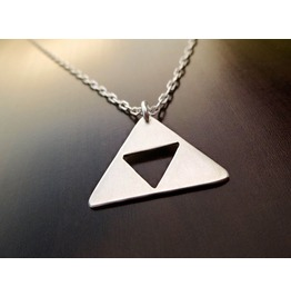 Triforce Sterling Silver 925 Necklace