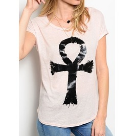 Shredded Soul Ankh Top