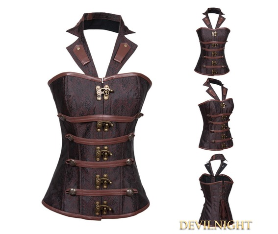 brown_brocade_underbust_steampunk_corset_with_collar_bustiers_and_corsets_2.jpg