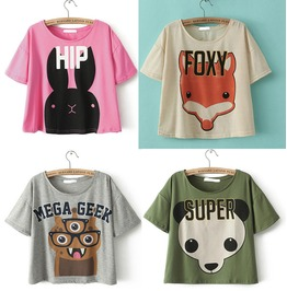 Animals T Shirts / Camisetas Animales Wh195