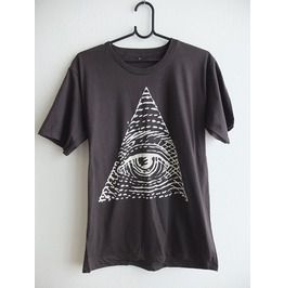 Eyes Contact Fashion Pop Rock Indie T Shirt M