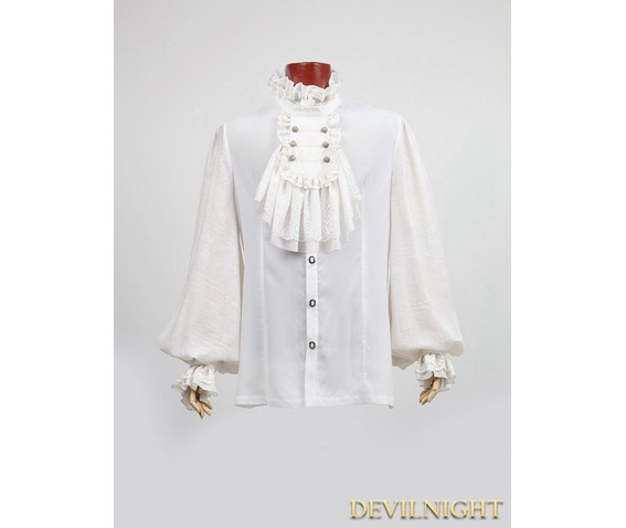 white_gothic_long_sleeves_chiffon_emnossing_blouse_for_men_shirts_5.jpg