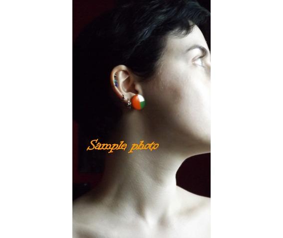 handpainted_geometric_orange_green_silver_wooden_stud_earrings__earrings_4.jpg