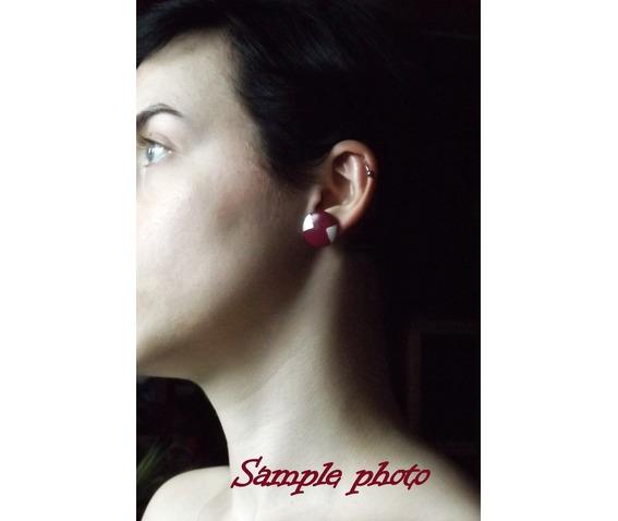 handpainted_geometric_burgundy_silver_wooden_stud_earrings_earrings_4.jpg