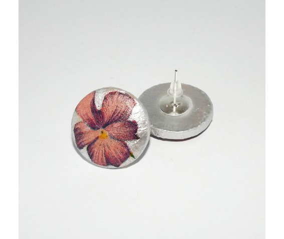 handmade_decoupage_pink_purple_pansy_wooden_stud_earrings_earrings_4.jpg