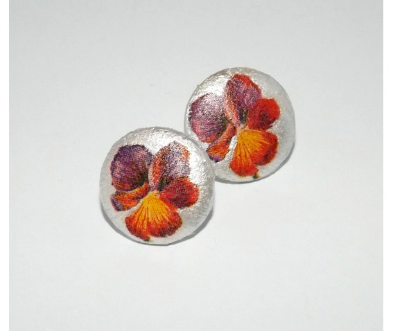 handmade_decoupage_purple_red_pansy_wooden_stud_earrings_earrings_4.jpg