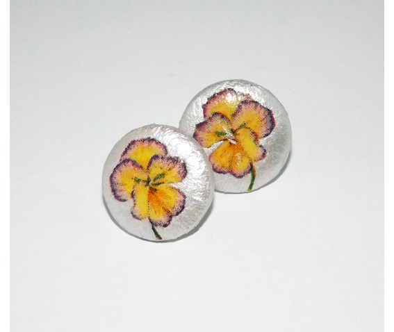 handmade_decoupage_yellow_purple_pansy_wooden_stud_earrings_earrings_4.jpg