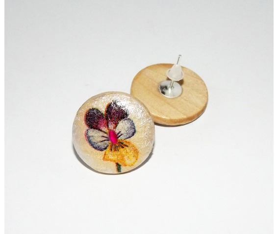 handmade_decoupage_purple_blue_yellow_pansy_wooden_stud_earrings_earrings_4.jpg