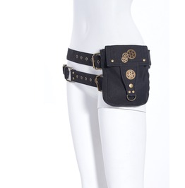 Steampunk Knight's Women Waist Bag B039