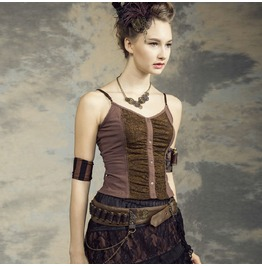 Steampunk Tank Top Three Colors B147