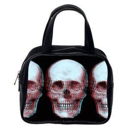 3 D Skull Hand Bag