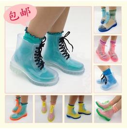 Clear Boots / Botas Transparentes Wh240