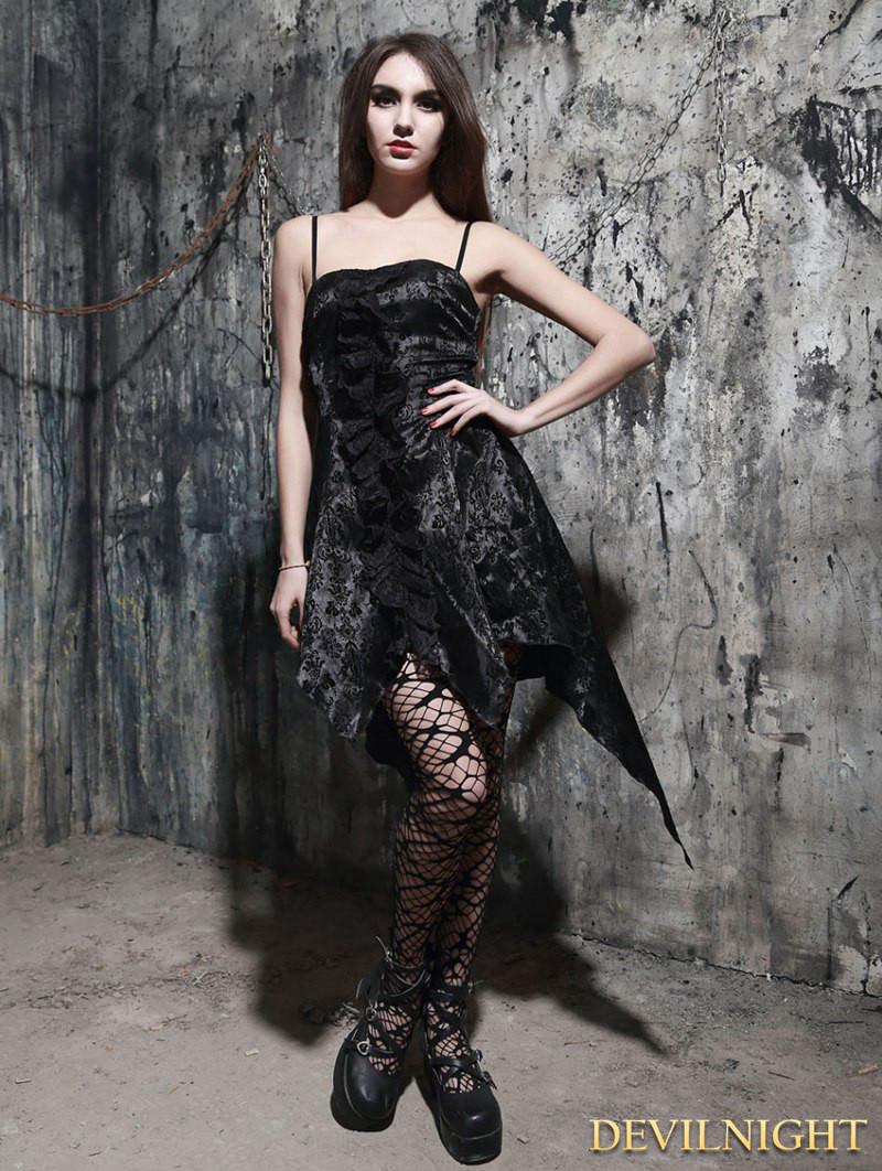 fashion_black_pattern_gothic_dress_with_irregular_skirt_dresses_5.jpg