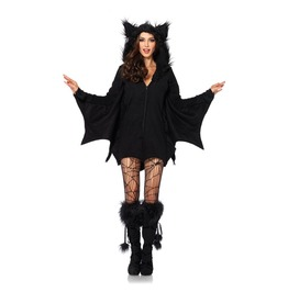 Cutie Bat Hoodie Jacket 1706 Qs Please Scroll Down & Read 1st!