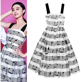 Music Dress / Vestido Música Wh199