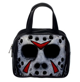 Friday The 13th Jason Mask 2 Sided Hand Bag