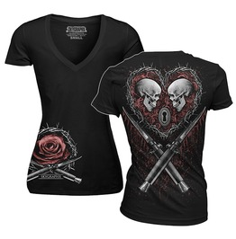 Til Death Ladies V Neck