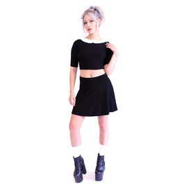 Wednesday 2piece Dress In Black