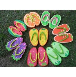 Fruit Flip Flops / Chanclas Fruta Wh362