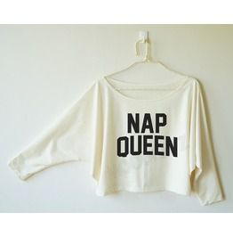 Nap Queen Shirt Nap Tee Shirt Sleep Shirt Sweatshirt Bat Sleeve Oversized ff431c34d