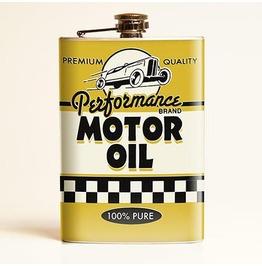 Motor Oil Flask
