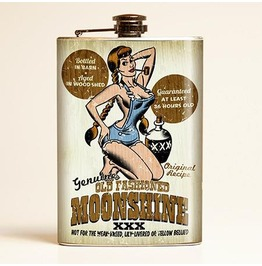 Mitch O'connell Moonshine Flask