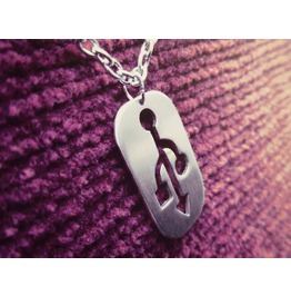 Usb Major Geek Pendant Necklace