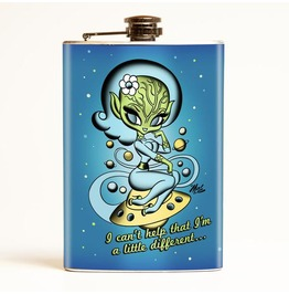 Mitch O'connell Different Alien Flask