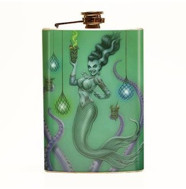 P'gosh Franken Mermaid Flask