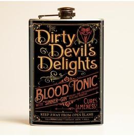 Theatre Bizzare Dirty Devil Delight Flask