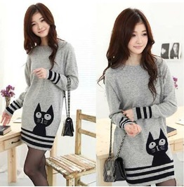Cat Sweater / Jersey Gato Wh166