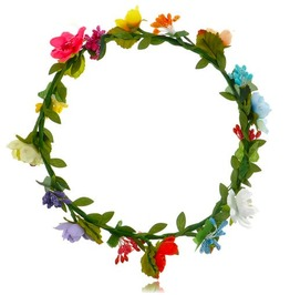Awesome! Colourful Mixed Flower Headband