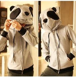 Panda Hoodie Sudadera Wh148