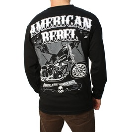 American Rebel Long Sleeve Mens Tee